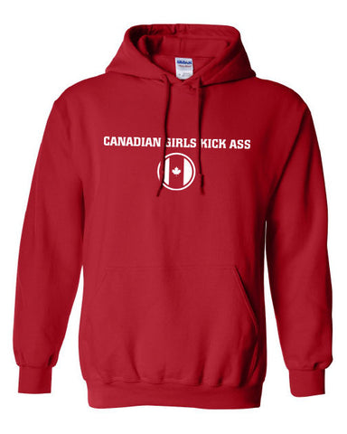 Canadian Girls Kick Ass Olympic Team hoodie for Canada Day ML-262