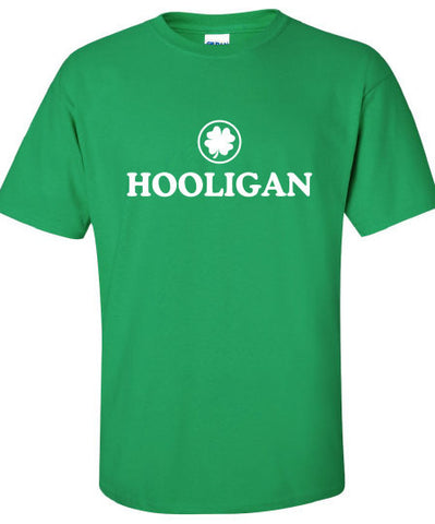 Hooligan pub Irish fight bar scotland saint st. Patrick's Paddy's ireland scottish T-Shirt Tee Shirt Mens Ladies Womens mad labs ML-285