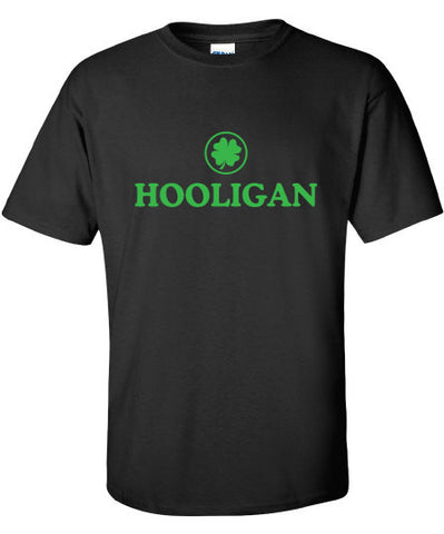 Hooligan pub Irish fight bar scotland saint st. Patrick's Paddy's ireland scottish T-Shirt Tee Shirt Mens Ladies Womens mad labs ML-285g