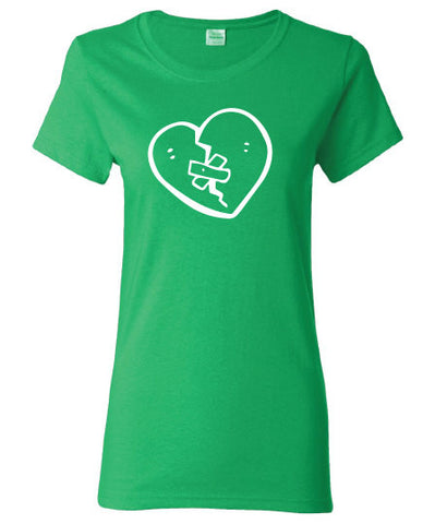 heart celtic Irish pub beer bar broken saint st. Patrick's Paddy's ireland scottish T-Shirt Tee Shirt Mens Ladies Womens mad labs ML-303