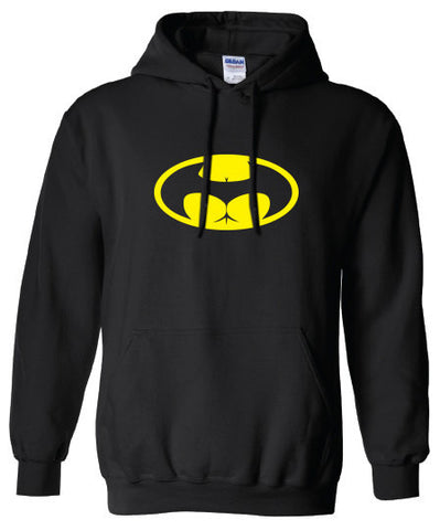 Butt signal buttman Batman Parody hoodie ML-305yh