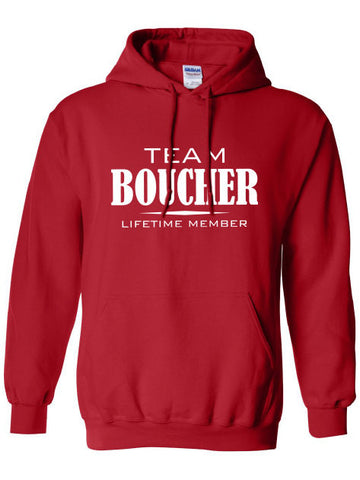 Team Boucher Lifetime Member Clothing family pride best last name mens ladies swag Funny hoodie hooded sweatshirt cool dope sports ML-333h