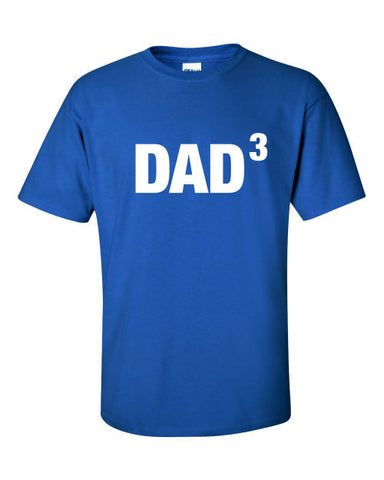 Dad3 or any number of kids T-Shirt Funny Fathers Day Christmas Gift The Beast Tee Shirt Tshirt Mens Womens Kids MADLABS ML-375