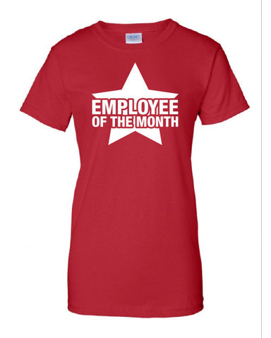 Employee of the Month best worker Christmas Gift The Beast Tee Shirt Tshirt Mens Womens Kids MADLABS ML-377