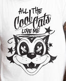 All the Cool Cats Love Me T-shirt MLG-1019