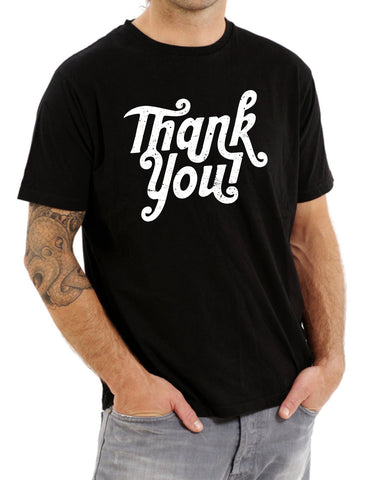 Thank You Very Much Distressed vintage Gratitude funny Shirt Printed T-Shirt Tee Shirt T Shirt Mens Ladies Womens Youth Kids Funny  ML-450