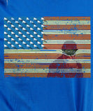 American Flag Big Brother is Watching T-shirt MLG-1050