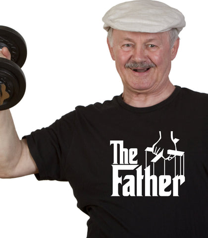The Father T-Shirt Daddy Grandfather Movie parody Funny Fathers Day Christmas Gift dad Tee Shirt Tshirt Mens Womens Kids MADLABS ML-453