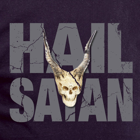 Hail Satan t-shirt, satanic, shirt, goth, hipster, hail satan, quote, trendy cool skull gift support great nation Mens Ladies swag MLG-1056