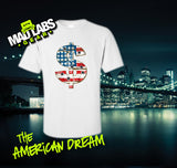 The American Dream Dollar Sign Hustler Brooklyn Bronx Queens NYC New York City Jersey Money Style Crime Pays  Mens Ladies swag MLG-1058