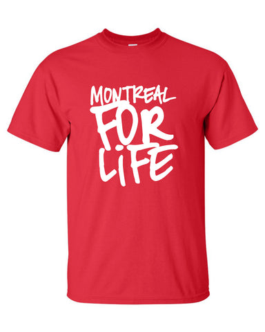 Montreal for life canadian quebec hip hop city represent graffiti Printed graphic T-Shirt Tee T Shirt Mens Ladies Womens Youth Kids ML-460