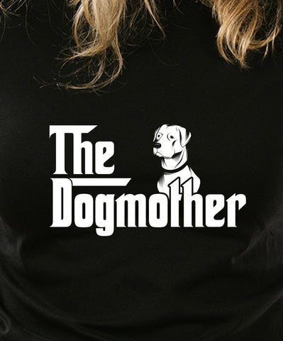 The Dogmother Lab Labrador T-shirt Gangster Swag Vintage movie inspired T-shirt tee Shirt 70s 80s summer Hot  Mens Ladies cool MLG-1068