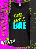 Come get it Bae Music tank top MLG-1076