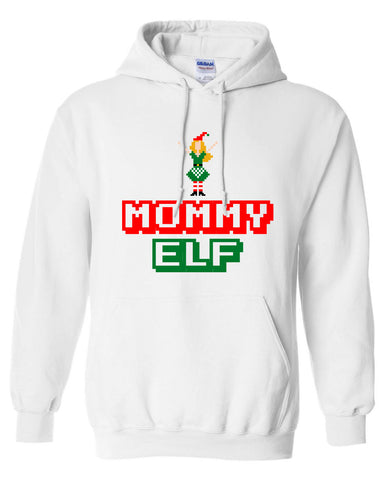 Mommy Elf hoodie Merry Christmas swag T-shirt tee Shirt TV show hipster Mommy ugly sweater sweatshirt Hot Funny Mens Ladies cool MLG-1100