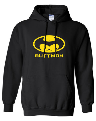 Butt signal buttman Batman Parody hoodie ML-551