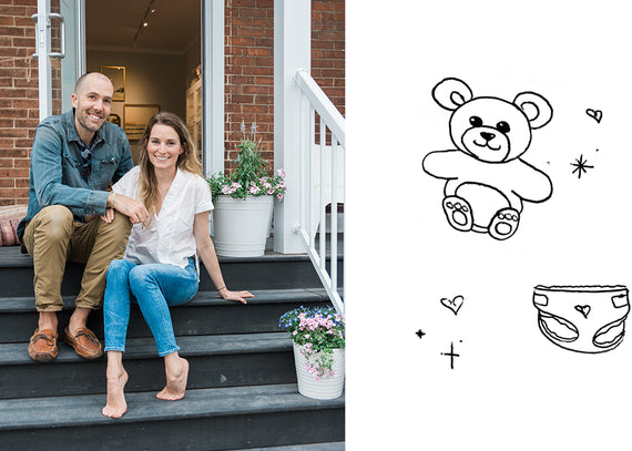 bluboho's co-founder is having a baby!