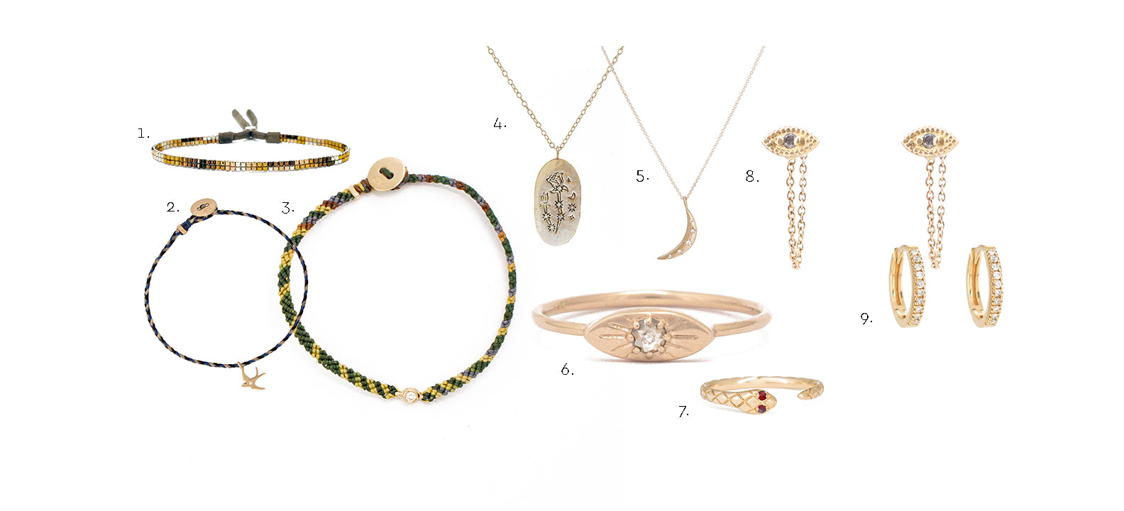 jewels to pack on your vacation