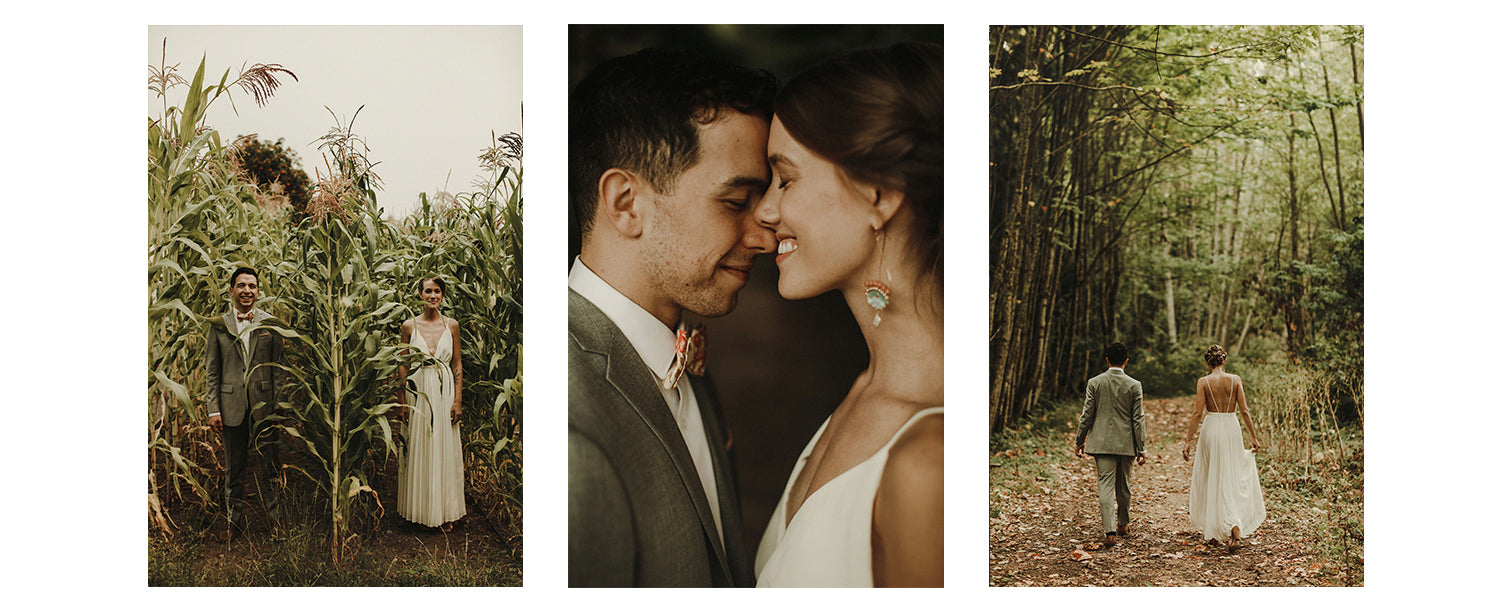 beautiful love story with a magical wedding