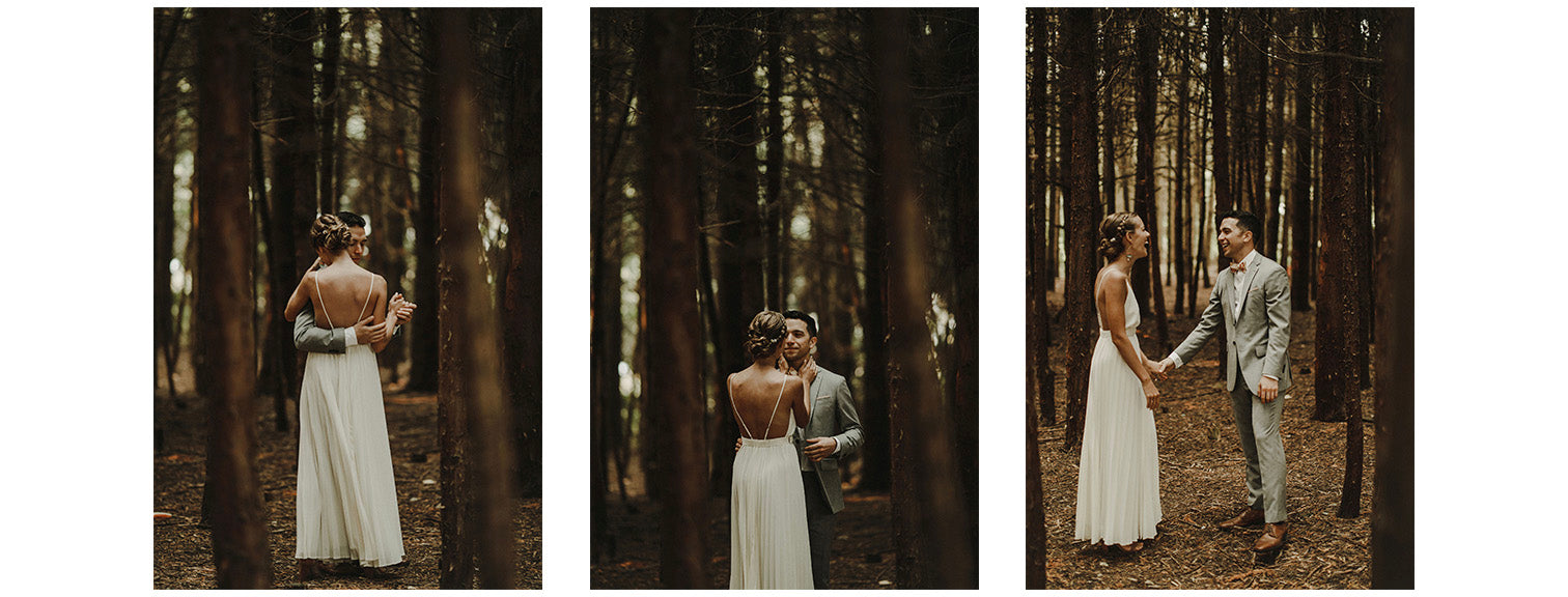 bohemian farm wedding in British Columbia