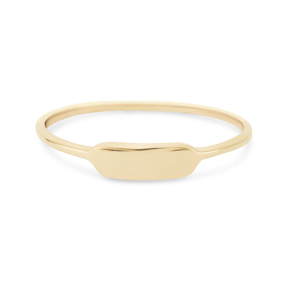 Namesake Ring - 10k Yellow Gold, Engravable