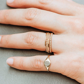 Abacus Ring on body}