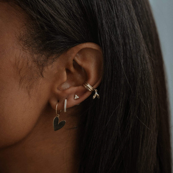 Guardian Ear Cuff - 14k Rose Gold