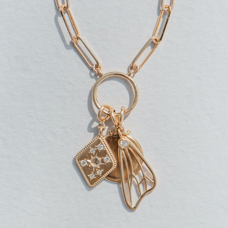 Dream Keeper Charm - 14k Yellow Gold