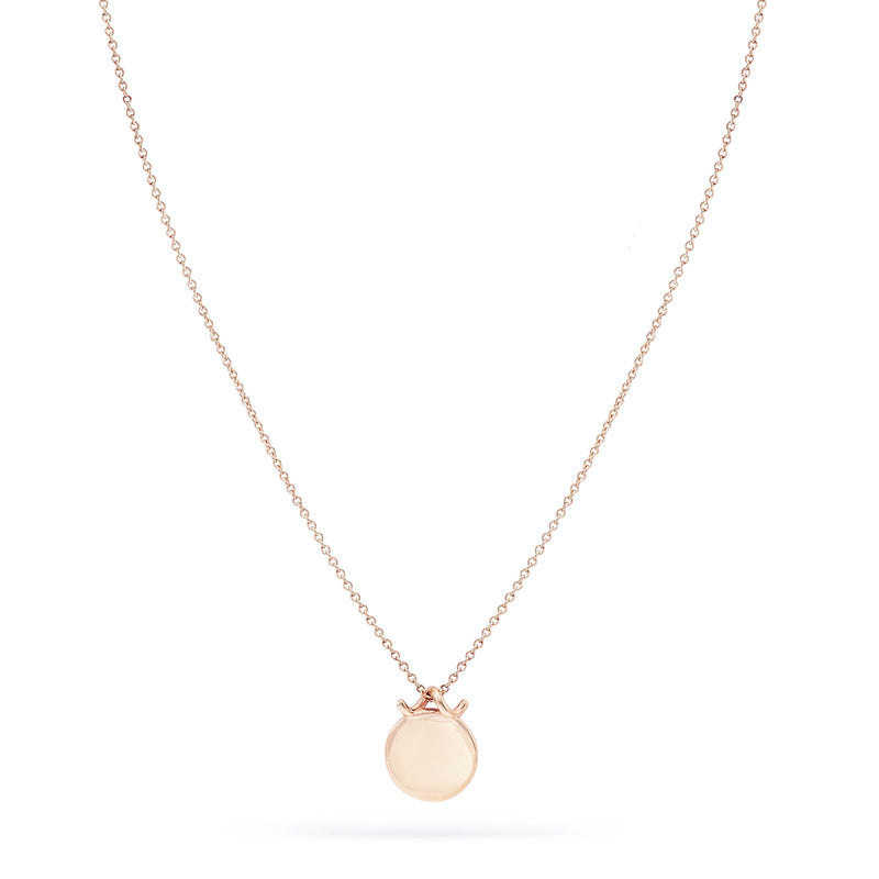 Imprint Forest Necklace - 14k Rose Gold, Engravable