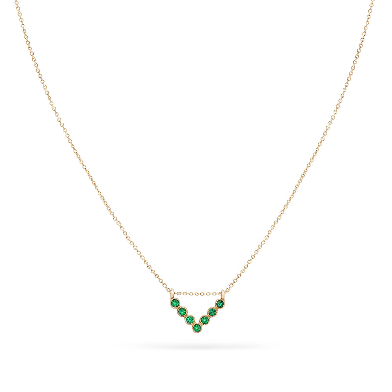 Treetop Forest Necklace - 14k Yellow Gold