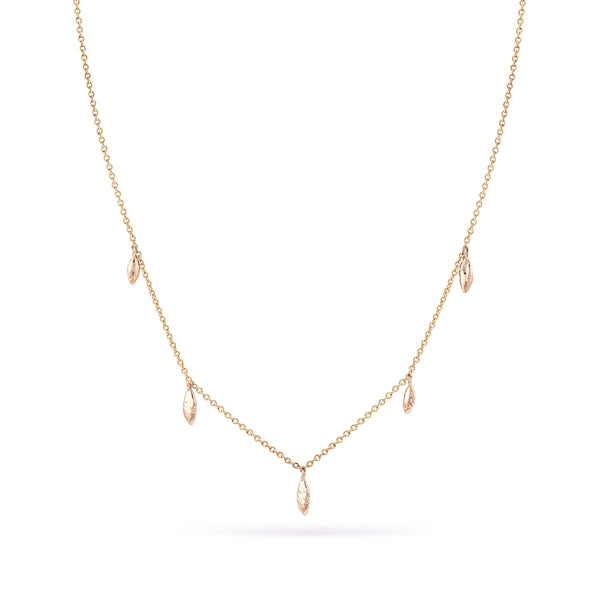 Hula Necklace - 14k Rose Gold