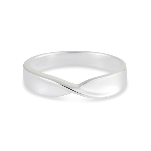 Fold Ring - Sterling Silver