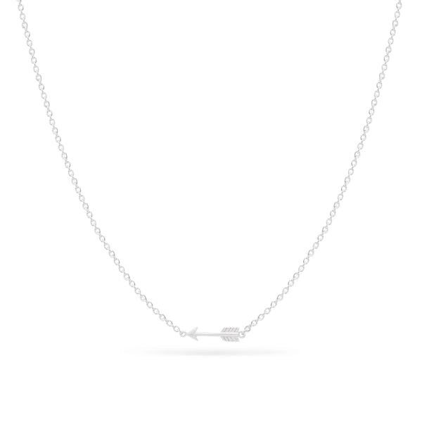 Tiny Arrow Necklace - Sterling Silver
