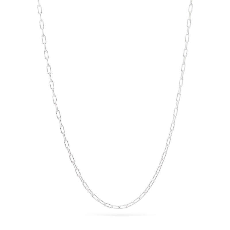 Simple Chain Necklace - Sterling Silver