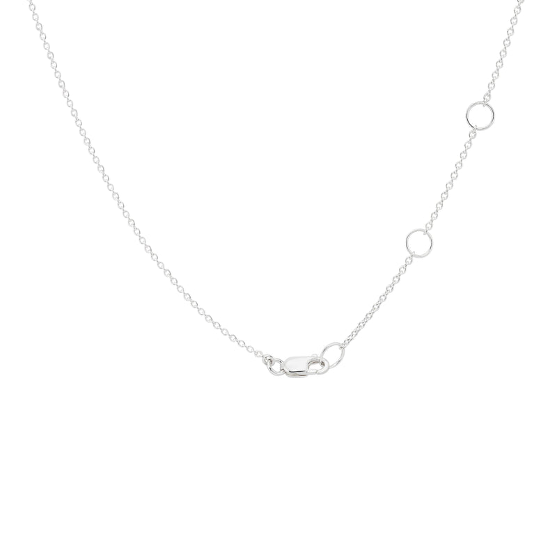 Safety Pin Necklace - Sterling Silver