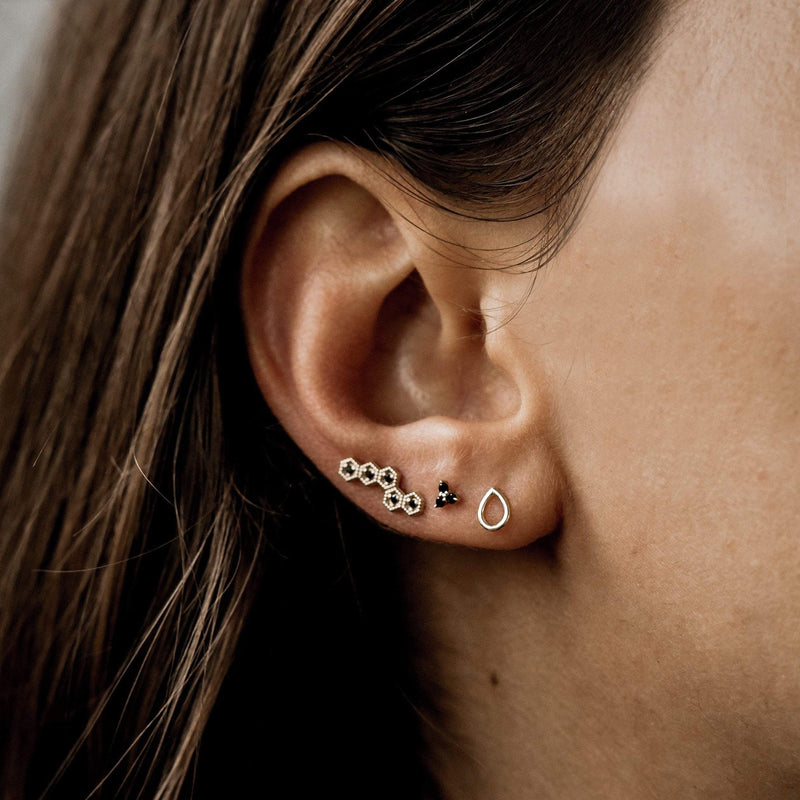 Honey Dipper Earring - 14k Rose Gold