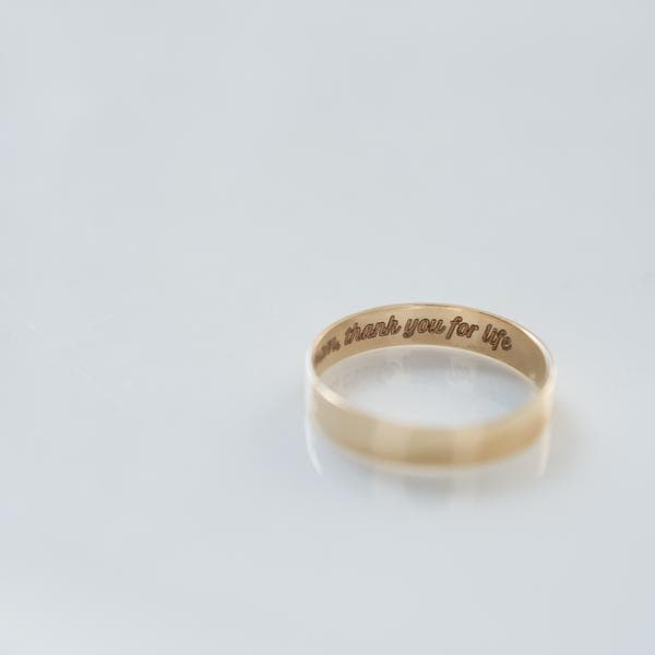 Legacy Ring - 14k Gold, Engravable