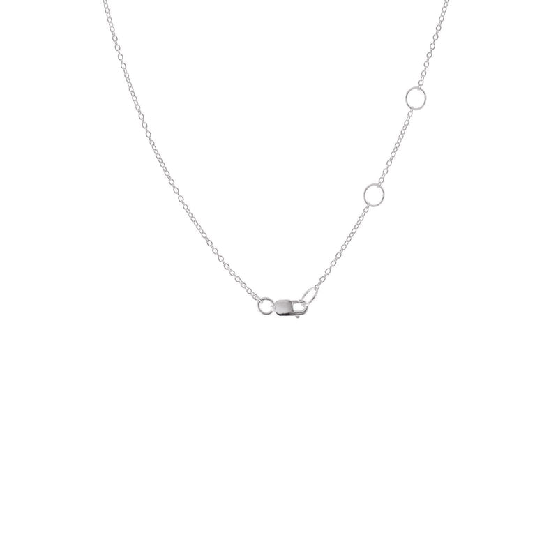Sterling Silver Petite Wishbone Necklace