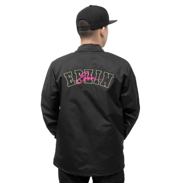 Virus Overlay Coach Jacket