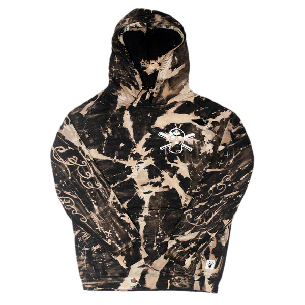 Tie Dye Road Warrior Pullover - L