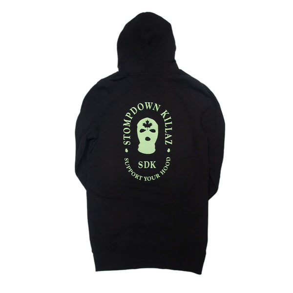 Support Your Hood Hoodie Dress