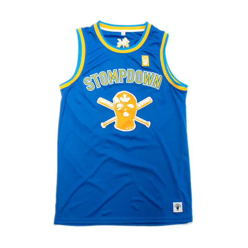 Blue SDK Basketball Jersey
