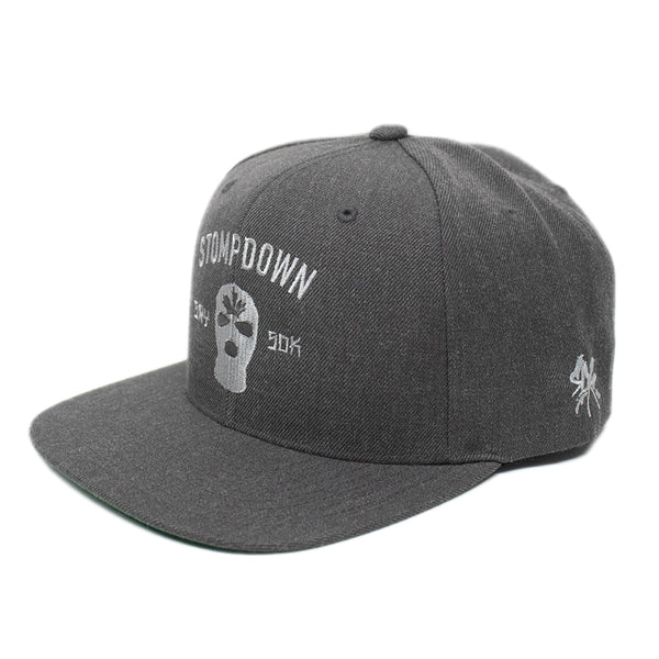 Gray Armament Snapback