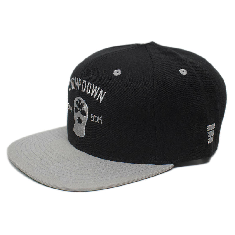 Black/Gray Armament Snapback