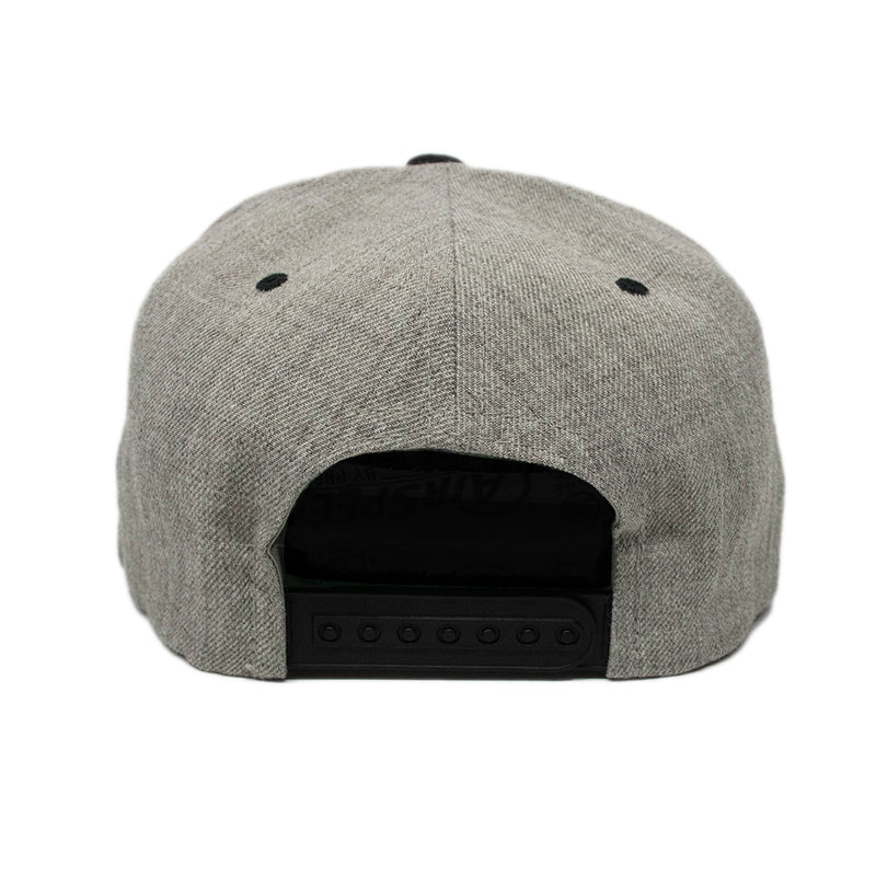 Gray/Black Armament Snapback