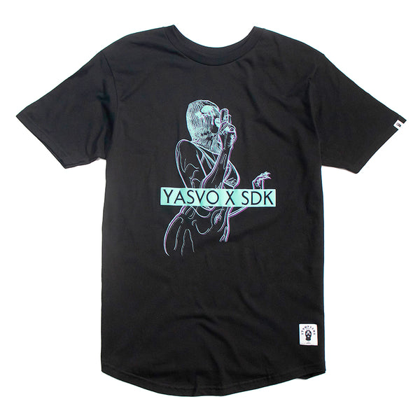 Yasvo x SDK - Blurred Vision Scoop Tee