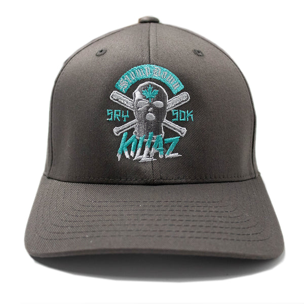 Gray/Teal F13 Flexfit