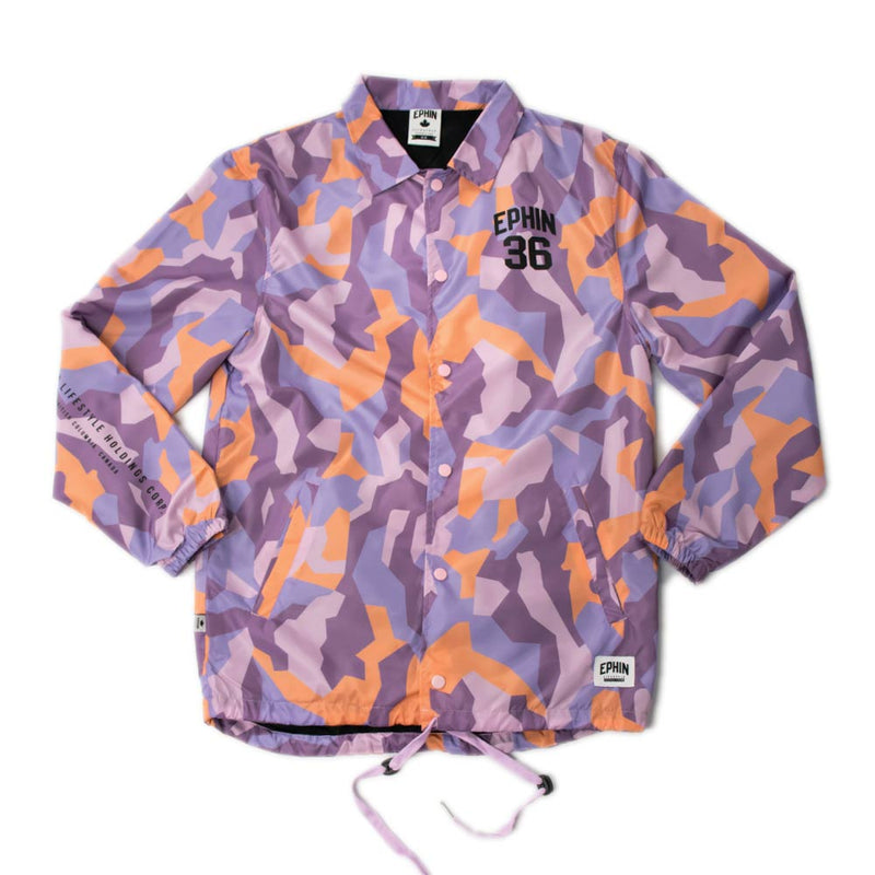 Pink Crystal Coach Jacket