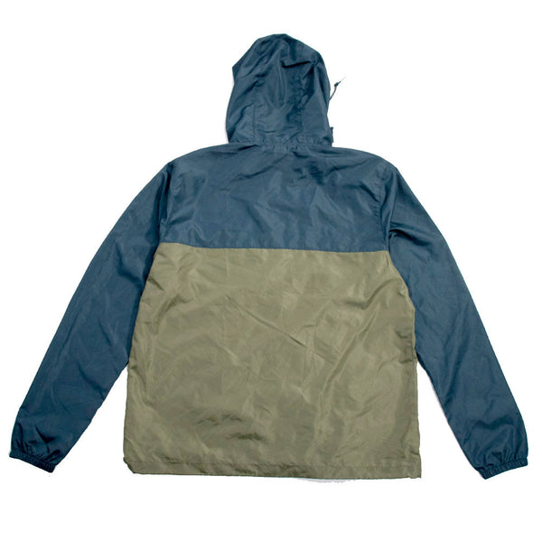Corrupted Windbreaker Green/Navy