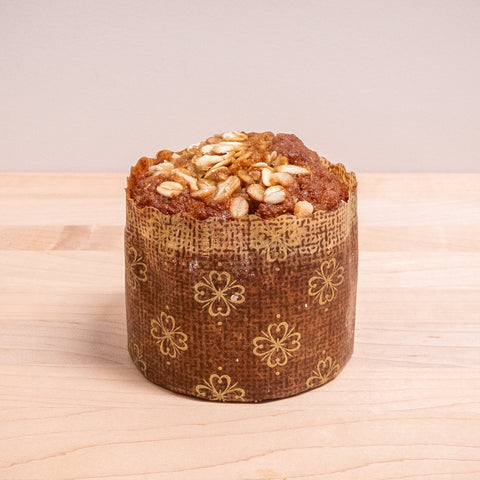 Apple honey bran muffin (gluten-free)