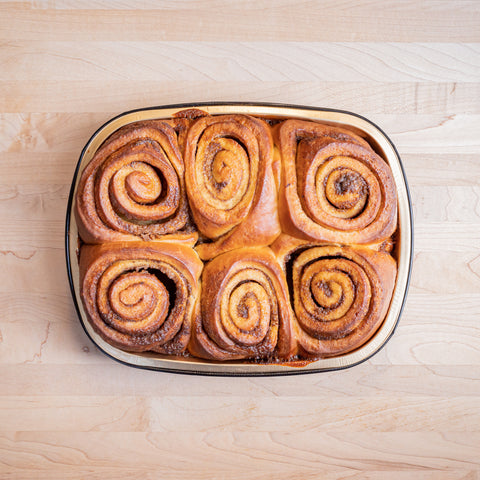 Bake-at-home cinnamon rolls